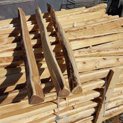 Robinienholzpfosten 225cm