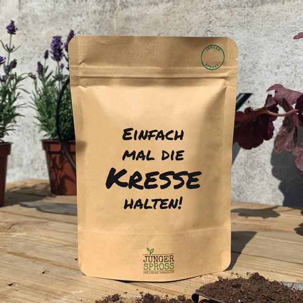 Saatgut 'Einfach mal die Kresse halten'