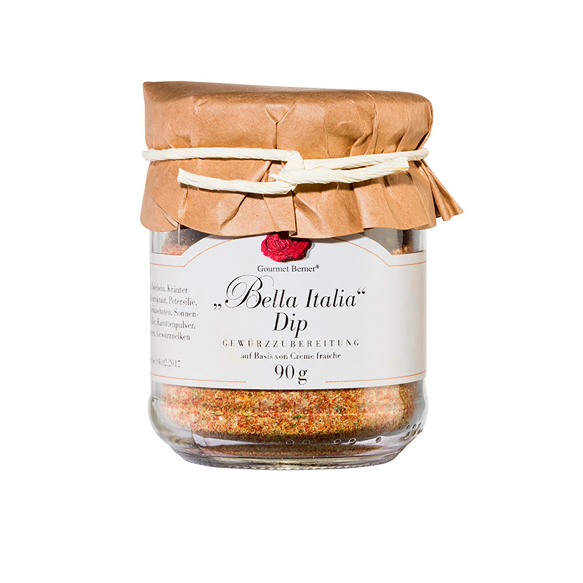 Gourmet Berner - Bella Italia Dip, 90g Glas