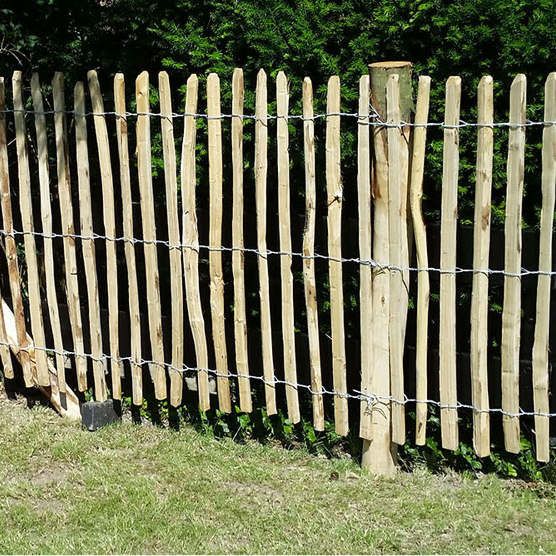 Staketenzaun Edelkastanienholz 150x5cm