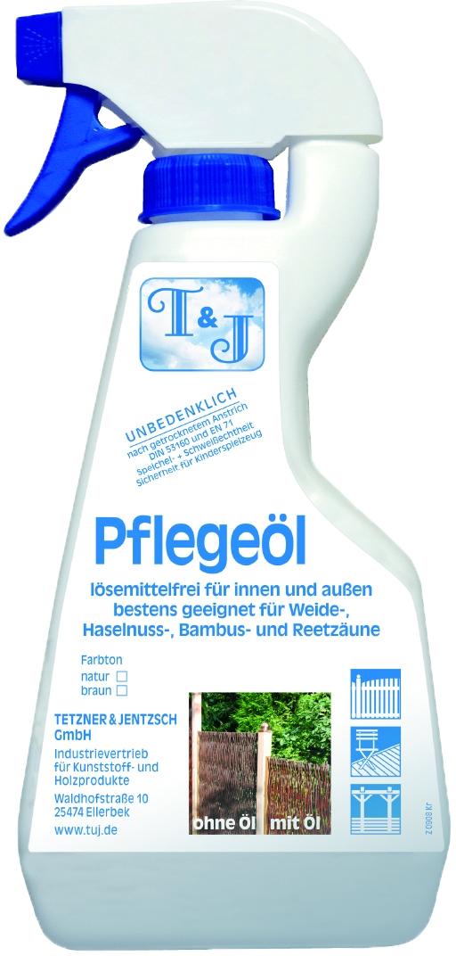 Pflegeöl für Naturzäune, natur