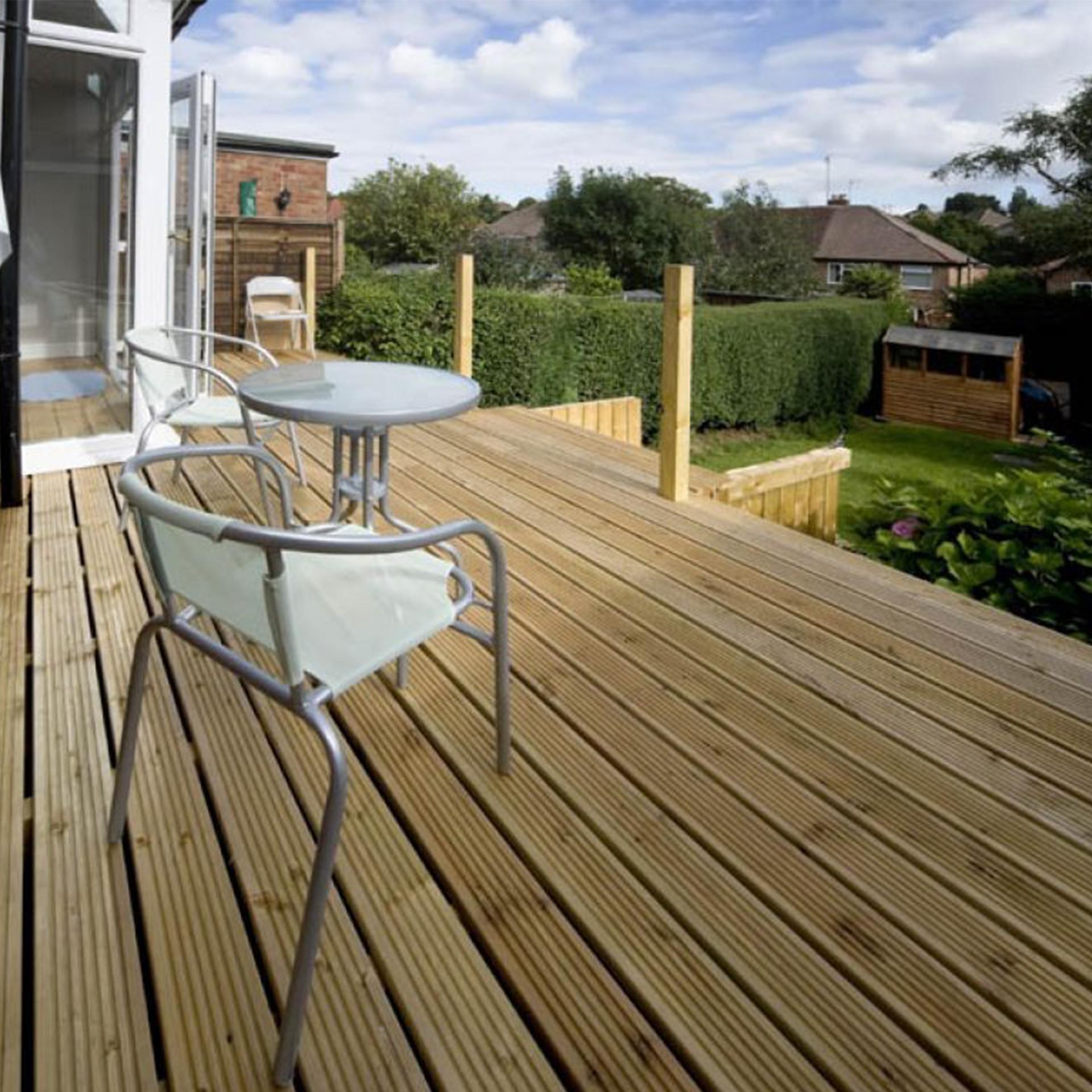Terrassendielen Robinienholz 3m