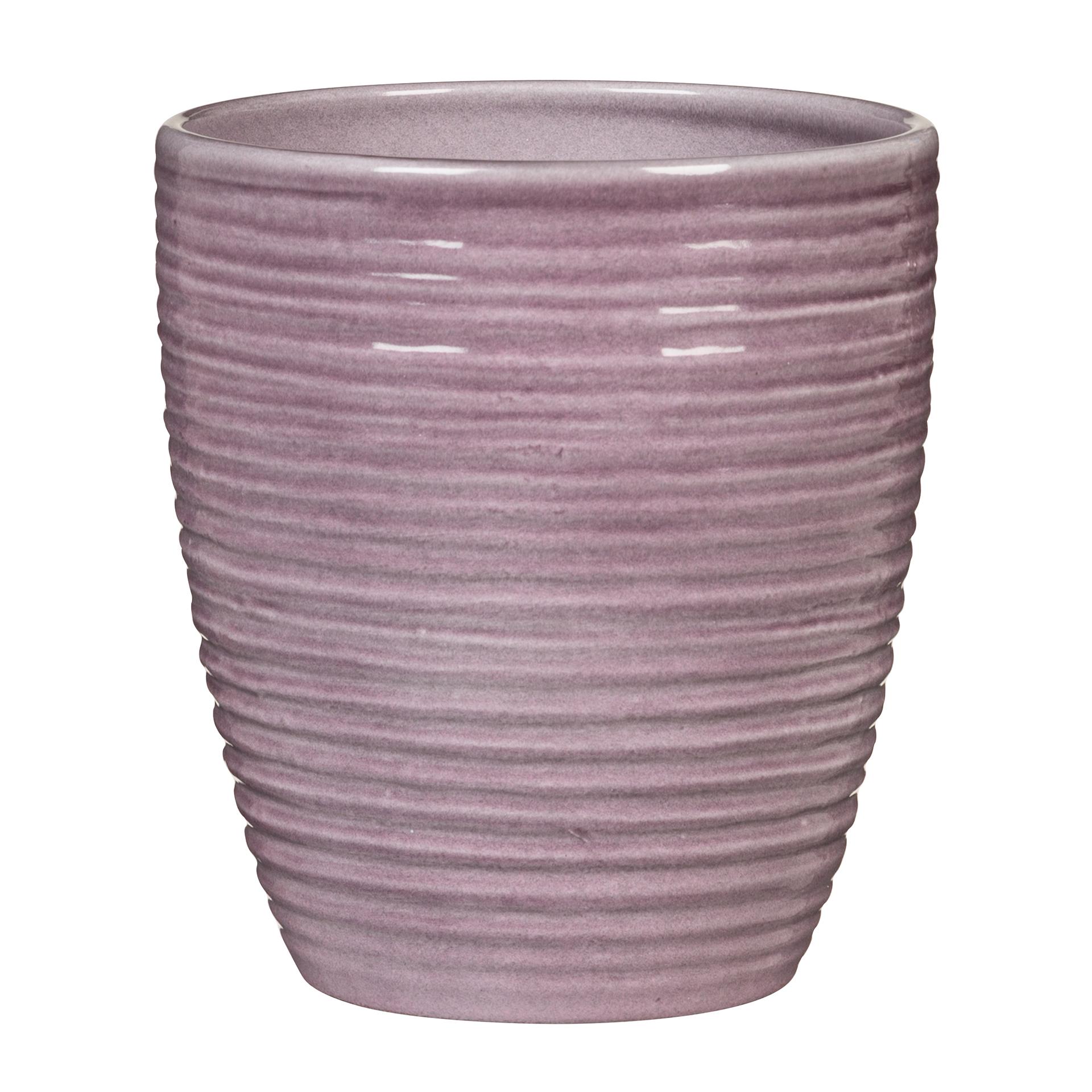 Orchideentopf Glass Malva