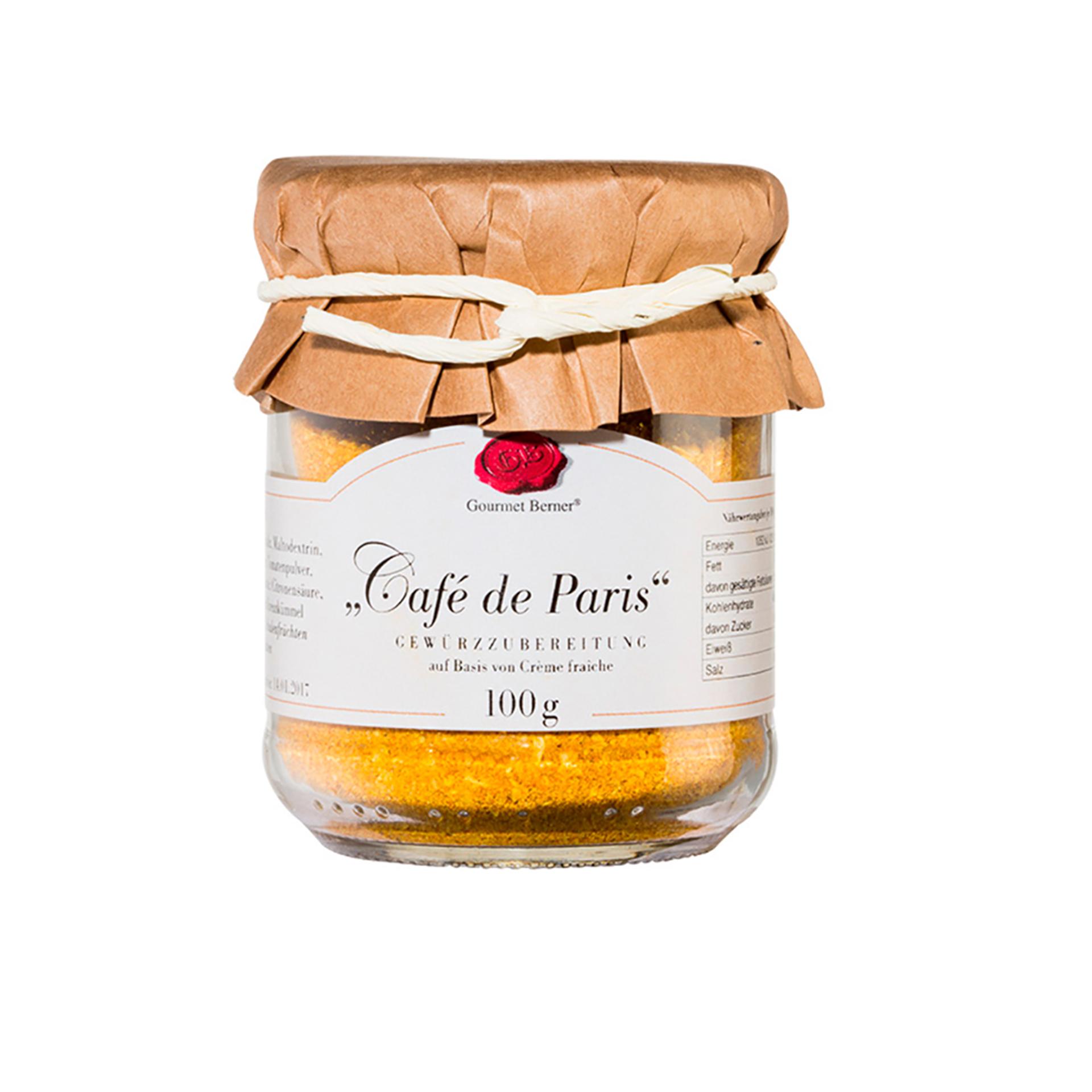 Gourmet Berner - Café de Paris Dip, 100g Glas