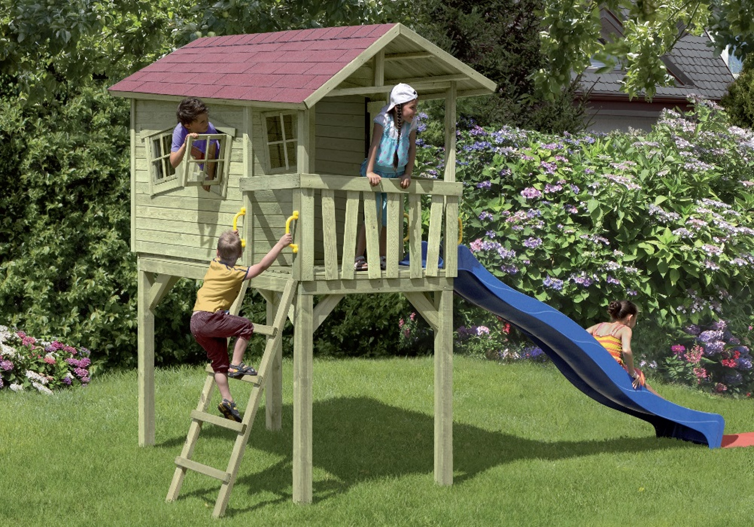 CRAZY BENNY-Kinderspielhaus
