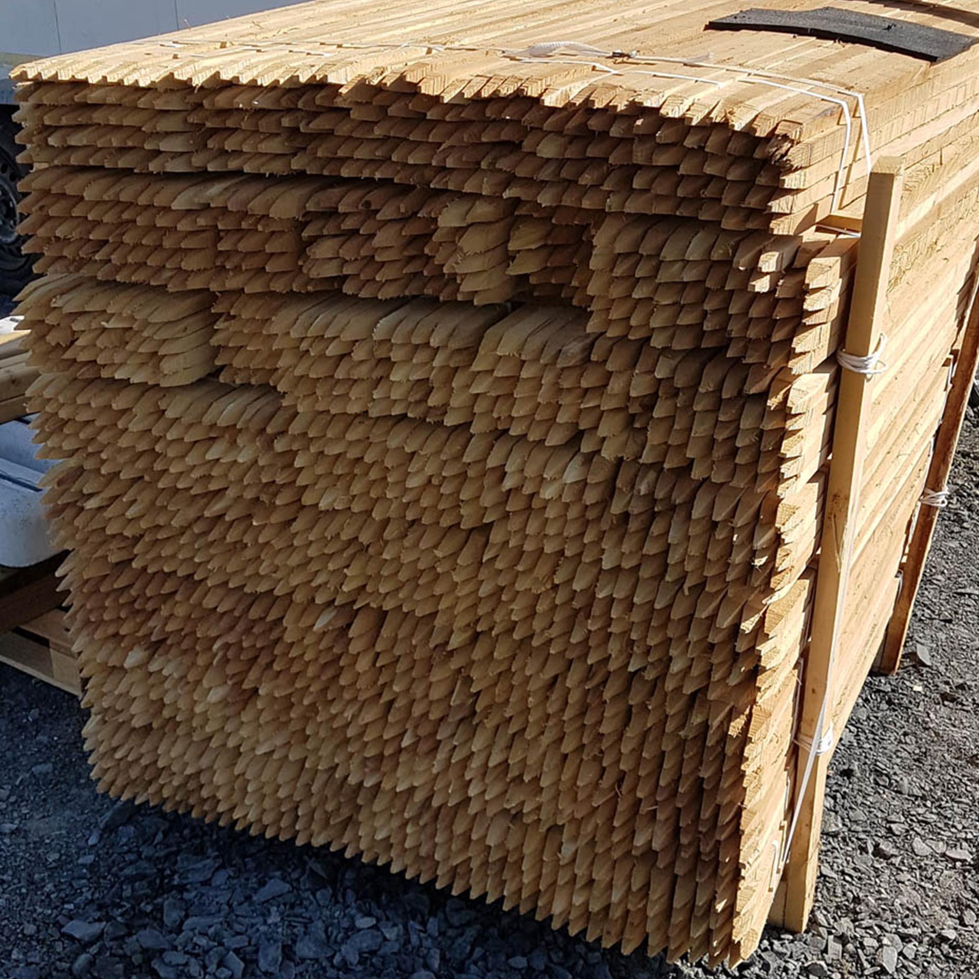 Pflanzstab Robinienholz 150x2,5x2,5cm