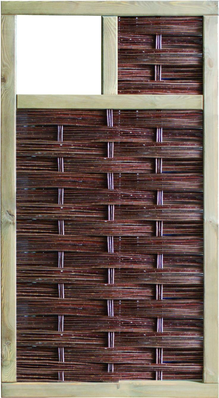 LABO-3D Weidengeflechtzaun, 1 Fenster oben
