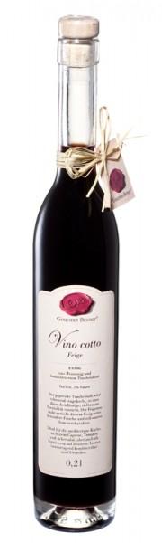 "Gourmet Berner - Vino Cotto ""Feige"""