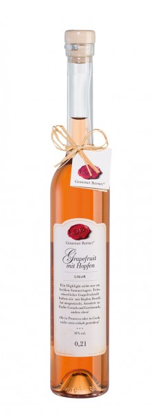 Gourmet Berner - Grapefruitlikör mit Hopfen 18%