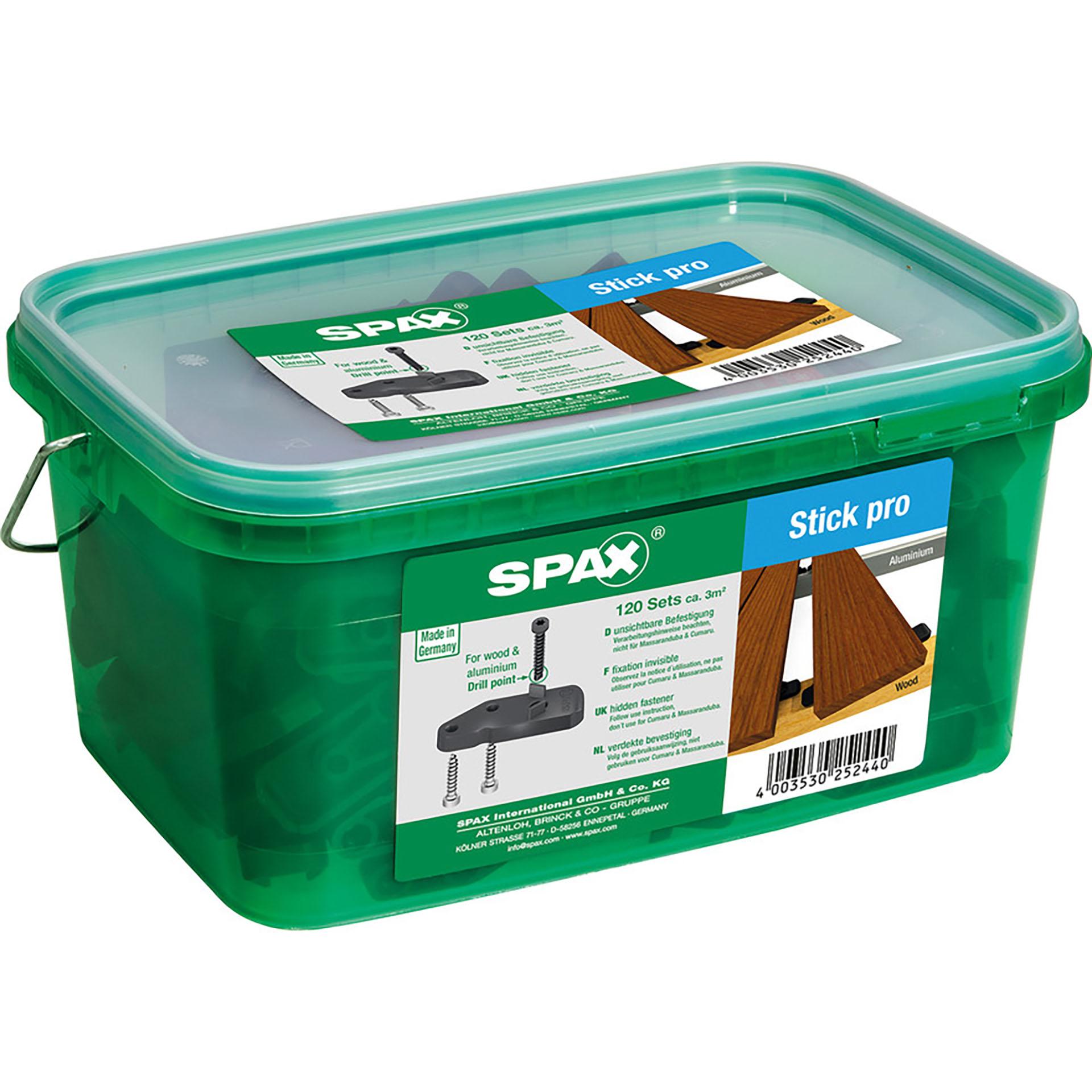 Spax Terrasse Stick Pro für 3qm